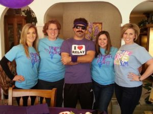 """My Relay For Life """"Community Managers"""" family!"""