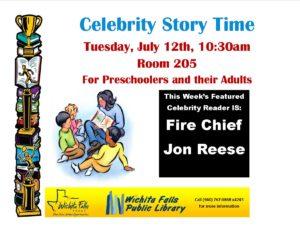Celebrity story time