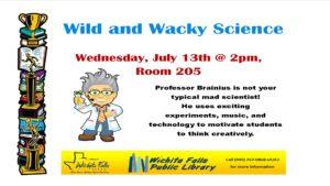 wild n wacky science