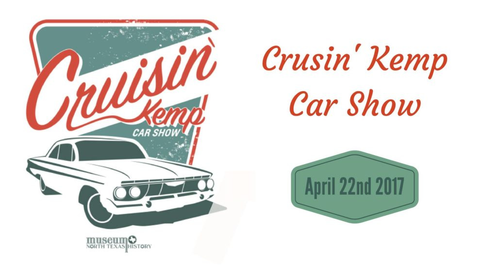 Cruisin' Kemp Car Show - Texoma with Kids